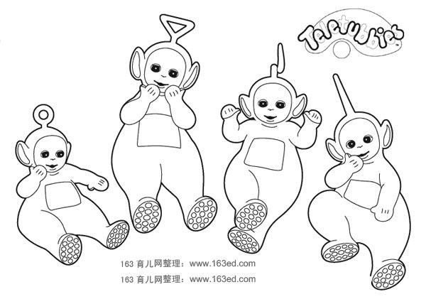 天线宝宝简笔画13