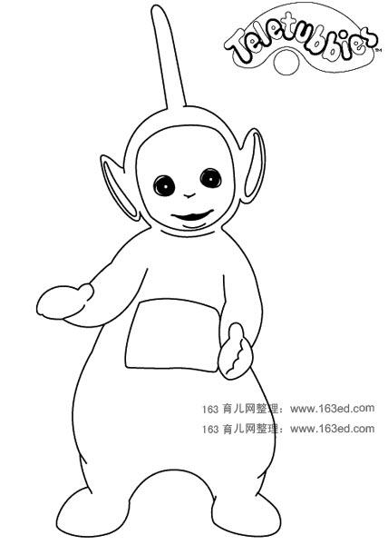 天线宝宝简笔画2