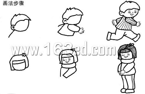人物简笔画画法20