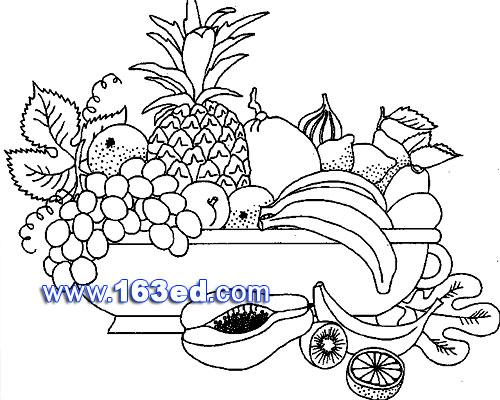 简笔画:水果3—简笔画网