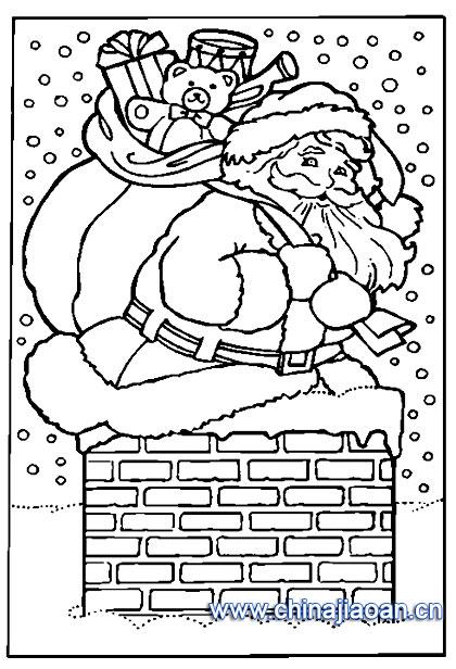 简笔画/圣诞老人简笔画118