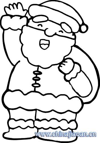简笔画/圣诞老人简笔画120