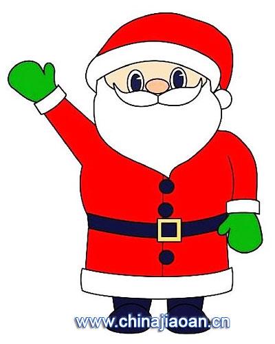 圣诞老人简笔画121