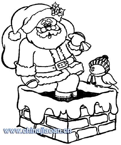 简笔画 圣诞老人/圣诞老人简笔画126