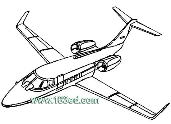 航天飞机交通工具简笔画步骤图片大全,儿童简笔画,幼儿简笔画,