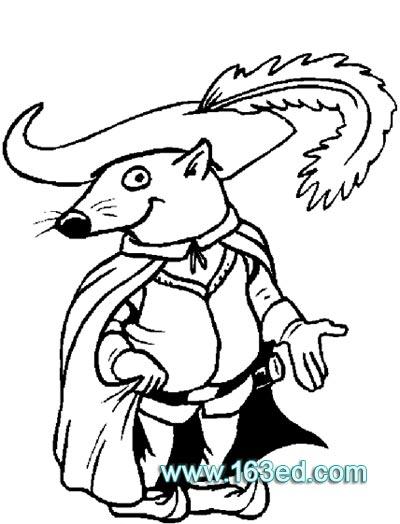 动物简笔画:小老鼠33