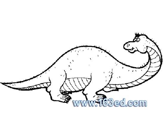 动物简笔画:恐龙9