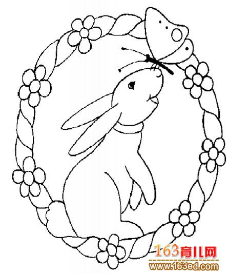 兔子简笔画5