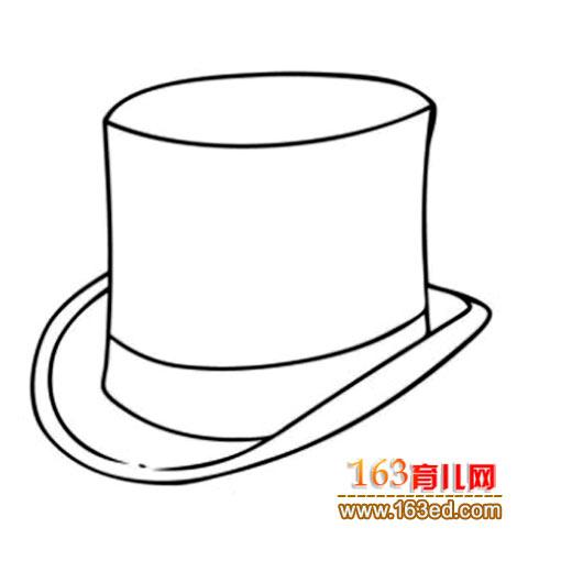 礼帽的简笔画—简笔画网