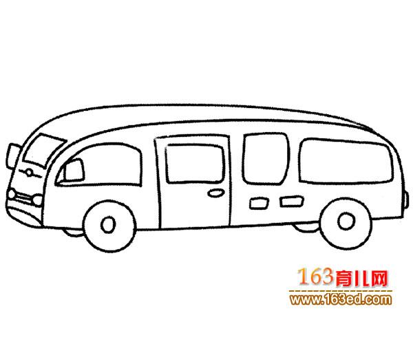 双层公交车简笔画公交车简笔画