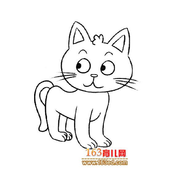 可爱的小猫简笔画7-简笔画网