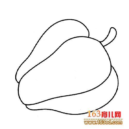辣椒简笔画 青椒
