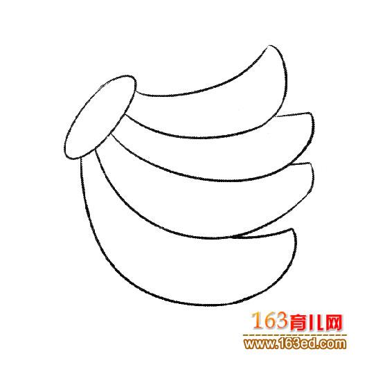 简笔画 一把香蕉2