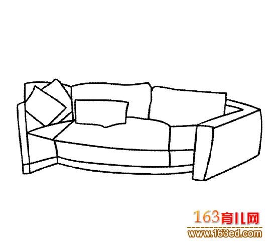 简笔画 舒服的沙发5