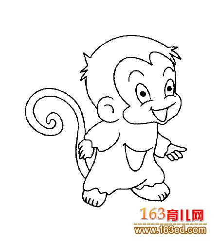猴子的简笔画大全