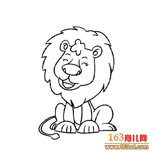 大狮子简笔画图片图片下载