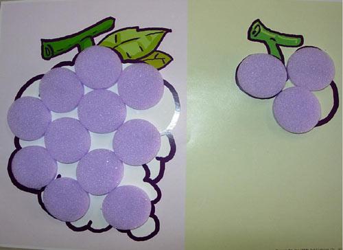 幼儿园大班教案:几何图形拼贴画图片