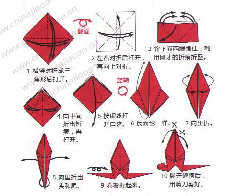 手工制作 蜻蜓
