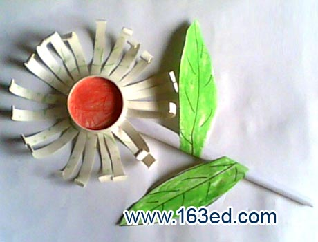 幼儿纸杯手工制作:各种花12—儿童手工制作网