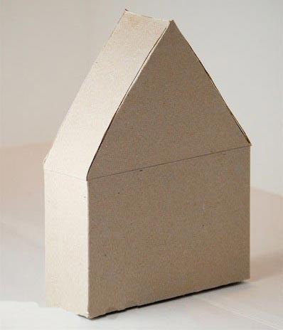 废旧物品手工:漂亮纸盒房子—儿童手工制作网