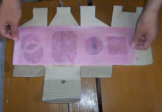 幼儿手工:纸盒灯笼的制作教程