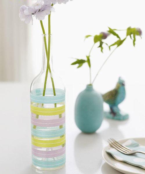 废旧利用 >> 正文  幼儿手工:制作一个漂亮花瓶的