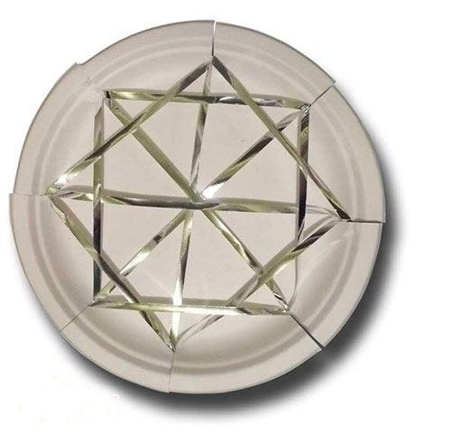 幼儿手工:用纸盘制作一个蜘蛛网—儿童手工制作网