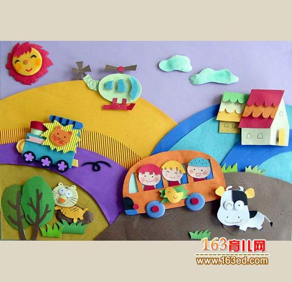 幼儿废品制作小汽车内容|幼儿废品制作小汽车图片