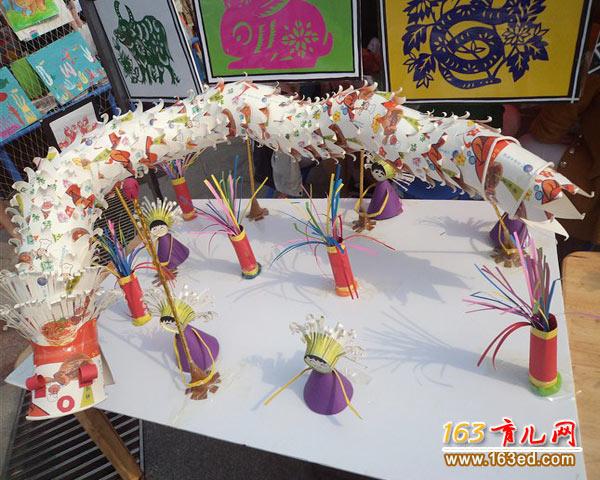 教程做的中国龙_物品废旧幼儿纸杯v教程jstorm使用手工图片