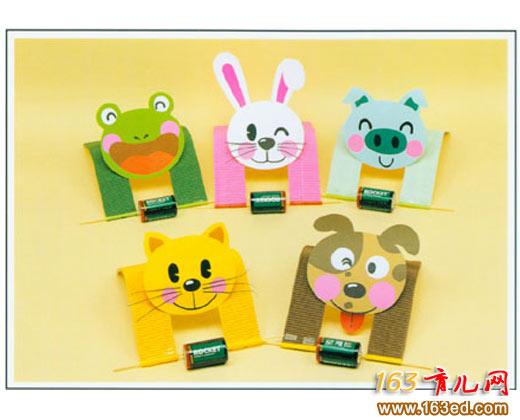 纸做的可爱动物_变废为宝手工制作教程