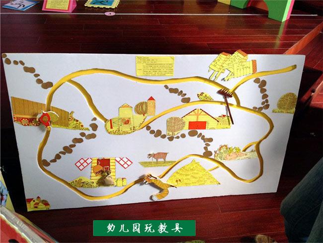 幼儿园玩具手工制作:各种各样的路