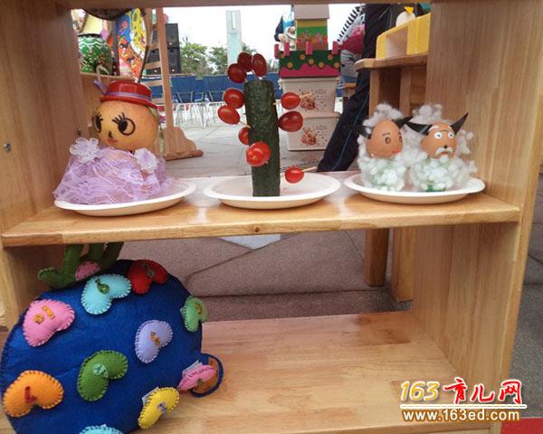 幼儿手工制作:各种各样的鸡蛋娃娃